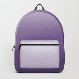Inspired by Pantone Chive Blossom Purple 18-3634 Watercolor Abstract Art Backpack