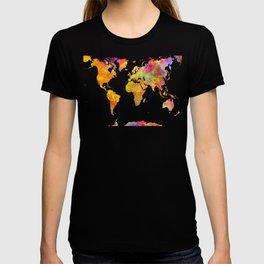 world map 23 T-shirt