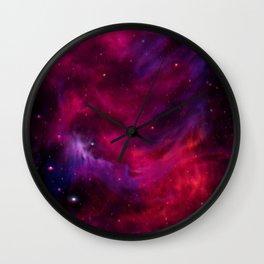 Spirit Nebula I Wall Clock
