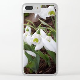 Watch Love Bloom Clear iPhone Case
