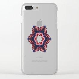 fleur de vacances Clear iPhone Case
