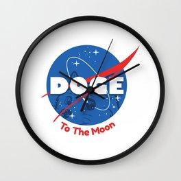 Nasa Doge Wall Clock
