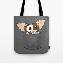 Pocket Gizmo (Mogwai) Tote Bag