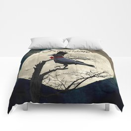 And the Raven Said, Nevermore (Inspired by The Raven) A657 Comforters