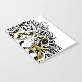 Gold Eyed Tiger Notebook