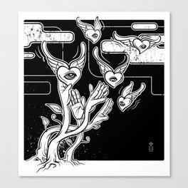 Catch Love Canvas Print