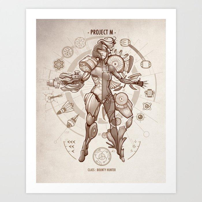 Project M - Da Vinci Edition Art Print