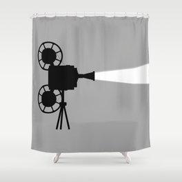 Movie Cine Projector Shower Curtain