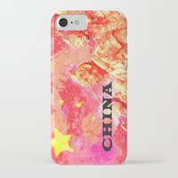 china iPhone & iPod Cases featuring China by Brian Raggatt