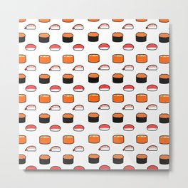 Little Sushi Metal Print