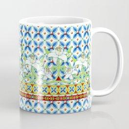 Extravagant Elizabethan Folkloric Lily Coffee Mug