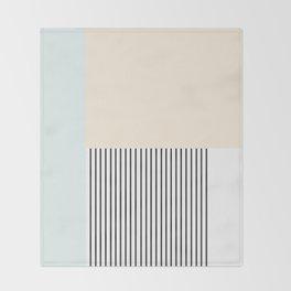 Pastelart III Throw Blanket