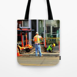 Give Or Take A Foot, Dig? Tote Bag