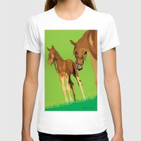 horses T-shirts featuring Horses by Anderssen Creative Imaging