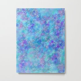 Winter blossum Metal Print