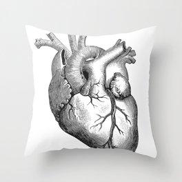 Hearty dos Throw Pillow