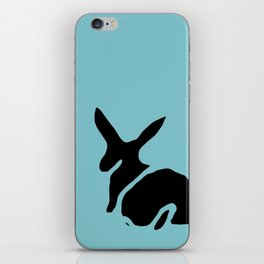 Rabbit Stamp iPhone Skin