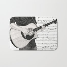 A Few Chords Bath Mat