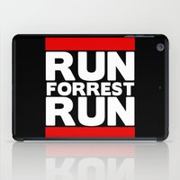 forrest gump iPad Cases featuring Forrest Gump Run by Spyck