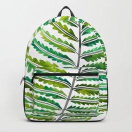 Fern Leaf – Green Palette Backpack