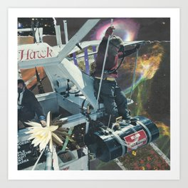 space voyage pt2 Art Print