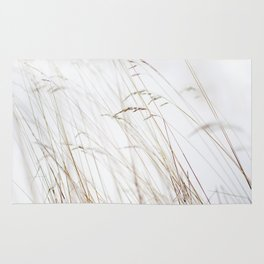Winter straw Rug