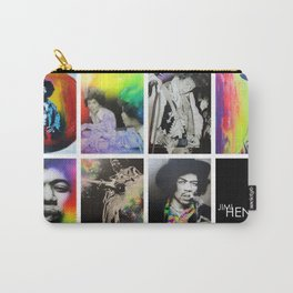 'Jimi Collage' Carry-All Pouch