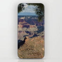Battleship Rock, Grand Canyon NP, AZ -- Just after sunrise iPhone Skin