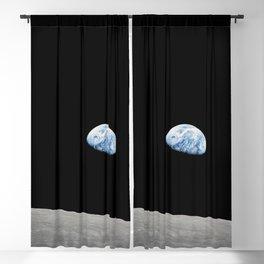 Apollo 8 - Iconic Earthrise Photograph Blackout Curtain