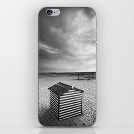 Beach Huts, Great Yarmouth iPhone Skin