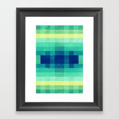 Almost Spring Abstract  Framed Art Print