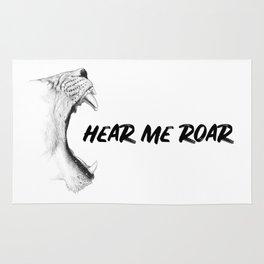 Hear Me Roar Rug