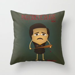 Inglorious Bulbs Throw Pillow