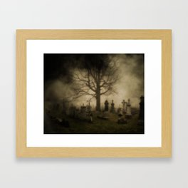 Unsettling Fog Framed Art Print