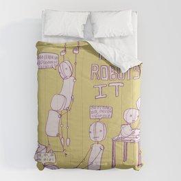 ROBOT LOVE Comforters
