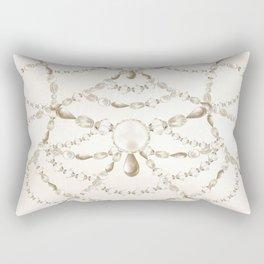 Beaded Pearls Rectangular Pillow