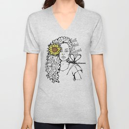 #STUKGIRL QUEEN Unisex V-Neck