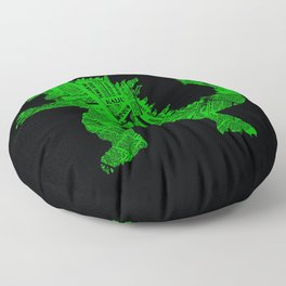 Japanese Monster - II Floor Pillow