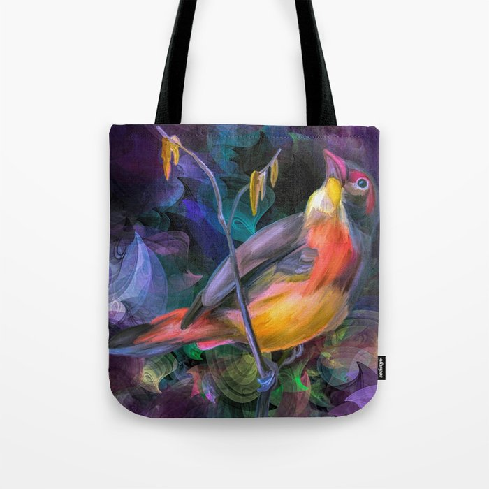 Painting of a Bird Tote Bag