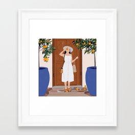 Colours of Marrakech Framed Art Print