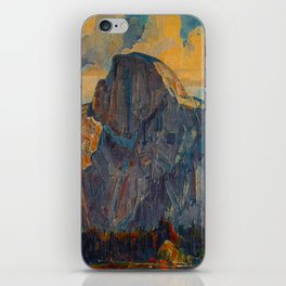 Vintage Yosemite National Park iPhone Skin