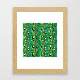 Tropical Birds Framed Art Print