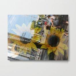 Urban Reflections 2 Metal Print