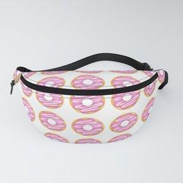 Pink Donut Pattern Fanny Pack