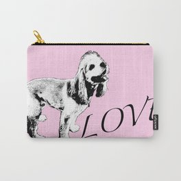 Ginger Happy Cocker Spaniel Carry-All Pouch