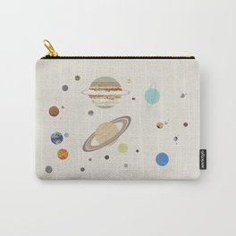 The Solar System - Planets, Moons, and Dwarf Planets Carry-All Pouch