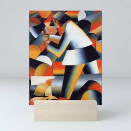 Kazimir Malevich - Woodcutter - Suprematism Mini Art Print