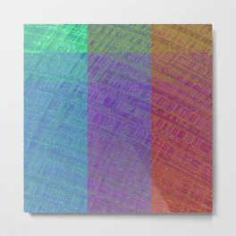 Color Cycles Metal Print