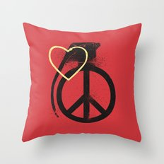 Full power Throw Pillow