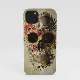 Garden Skull Light iPhone Case